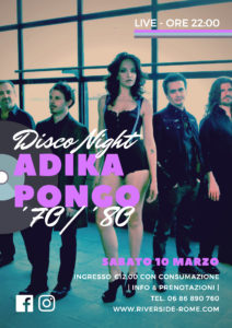 ADIKA PONGO - Disco Night '70 | '80