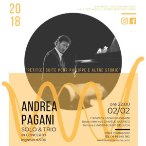 Andrea Pagani & Trio - Jazz Night
