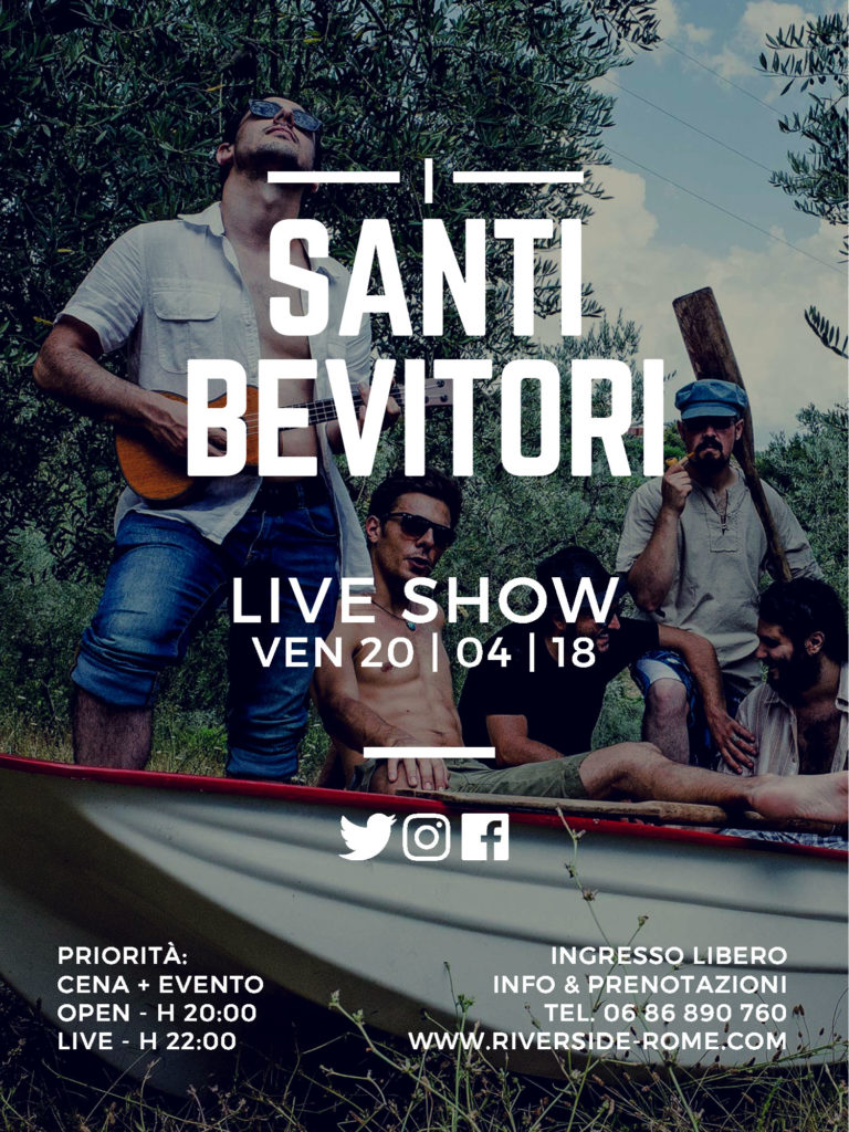 I Santi Bevitori - Live Show