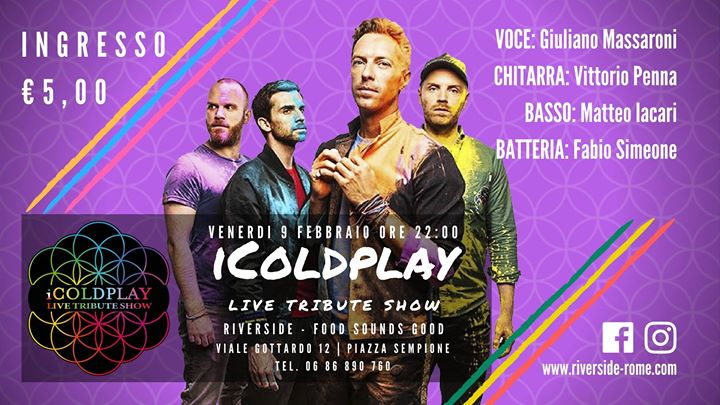 IColdplay Live Tribute Show