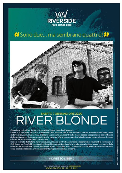 River Blonde al Riverside!